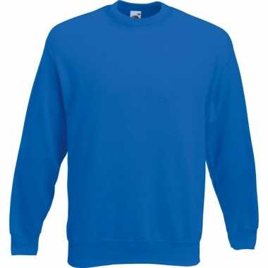 Fruit of the Loom sweater kobalt