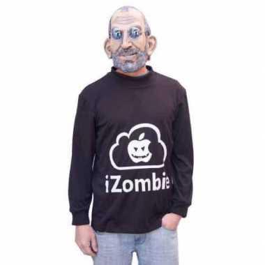 Halloween I Zombie apple kostuum masker