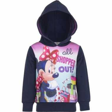 Minnie mouse sweater navy meisjes