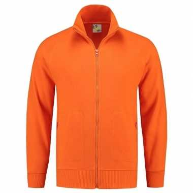 Oranje Lemon and Soda vest dames heren