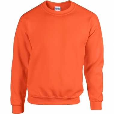 Oranje sweater dames heren