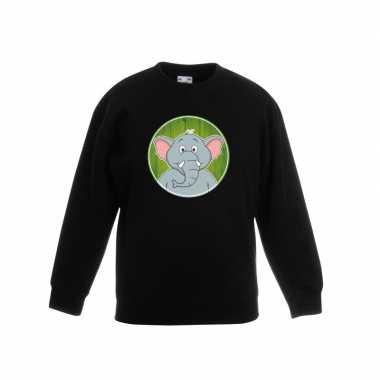Sweater olifant zwart kinderen