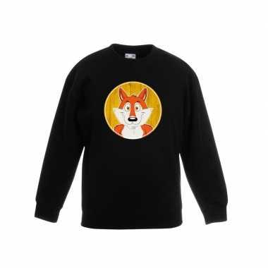 Sweater vos zwart kinderen