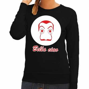 Zwarte salvador dali sweater dames
