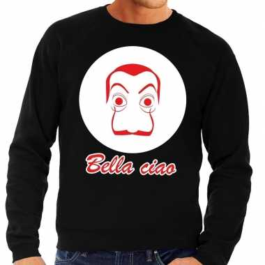 Zwarte salvador dali sweater heren