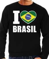 I love brasil sweater trui zwart heren