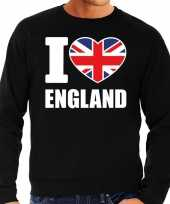 I love england sweater trui zwart heren