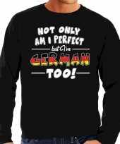 Not only perfect german duitsland sweater zwart heren
